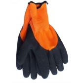 WERK WE2135Н Перчатки трикотажные усиленные с латексным покрытием (Оранжевые)